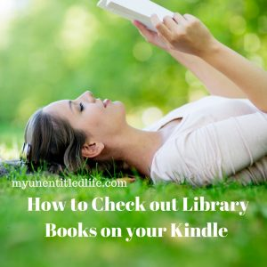 How to check out library books on your kindle