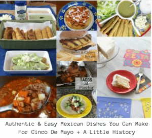 Mexican Dishes for Cinco De Mayo Roundup! #cincodemayo