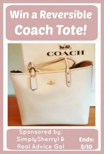 Coach Bag Giveaway 5/10 WW