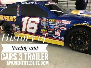 History of Racing and the newest Cars 3 trailer and movie release date