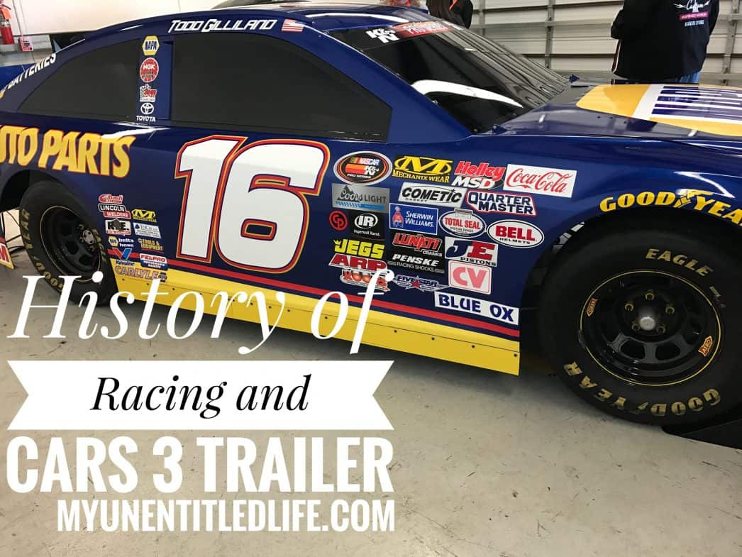 History of Racing and the Cars 3 trailer and movie release date
