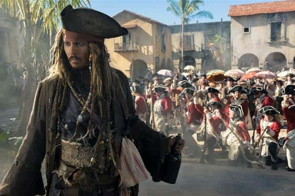 pirates of the caribbean dead men tell no tales johnny dep