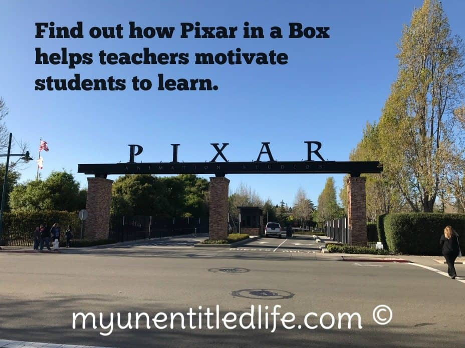 pixar in a box helps teachers motivate students to l earn