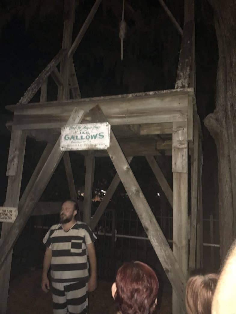 the haunted jail and gallows