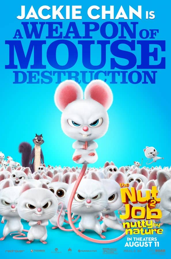 mouse poster for nut job 2