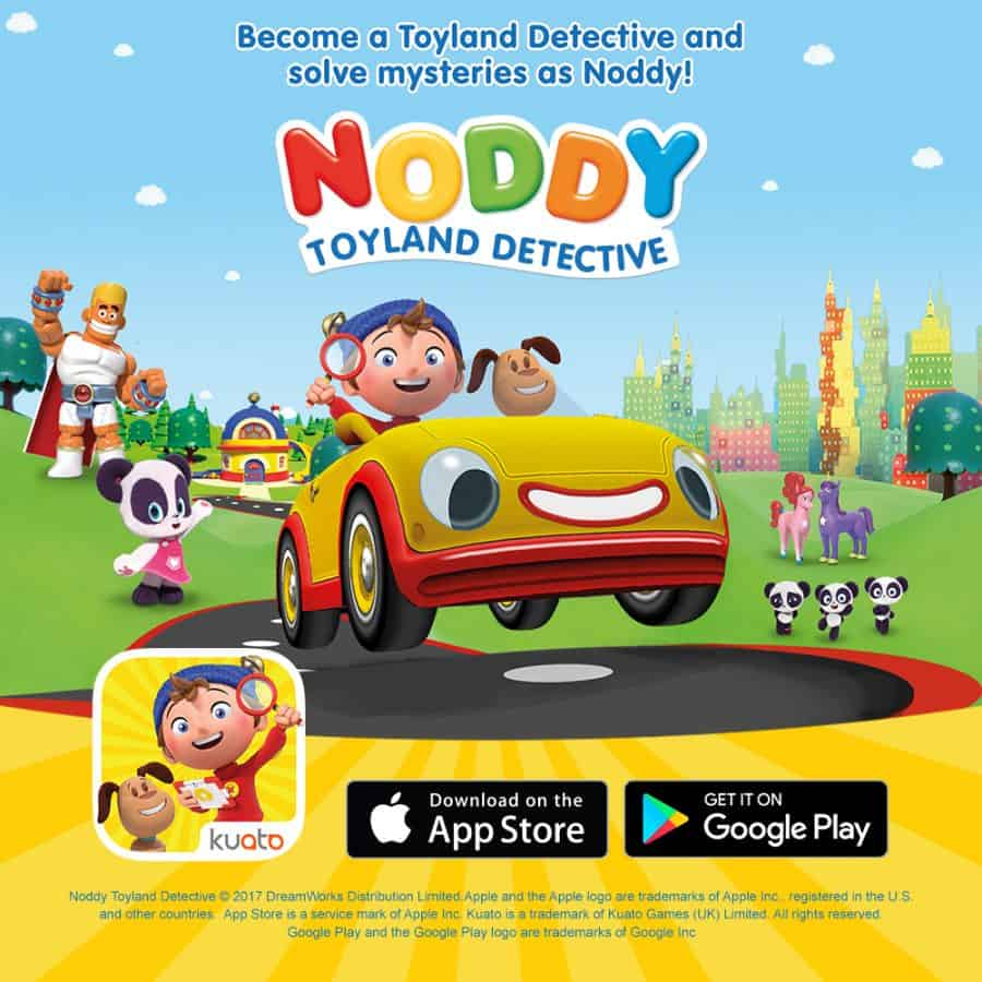 noddy detective let's investigate review for preschool games