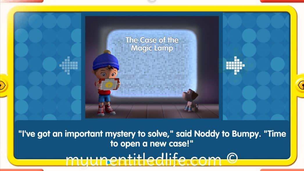 storybook detective with noddy