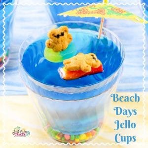 Beach Days Jello Cups recipe #12daysof
