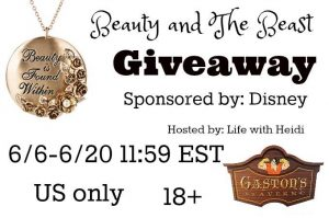 huge beauty and the beast giveaway