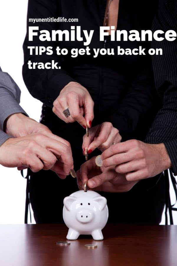 family finance tips to get you back on track