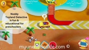 Noddy Toyland Detective is a fun app for the preschool set