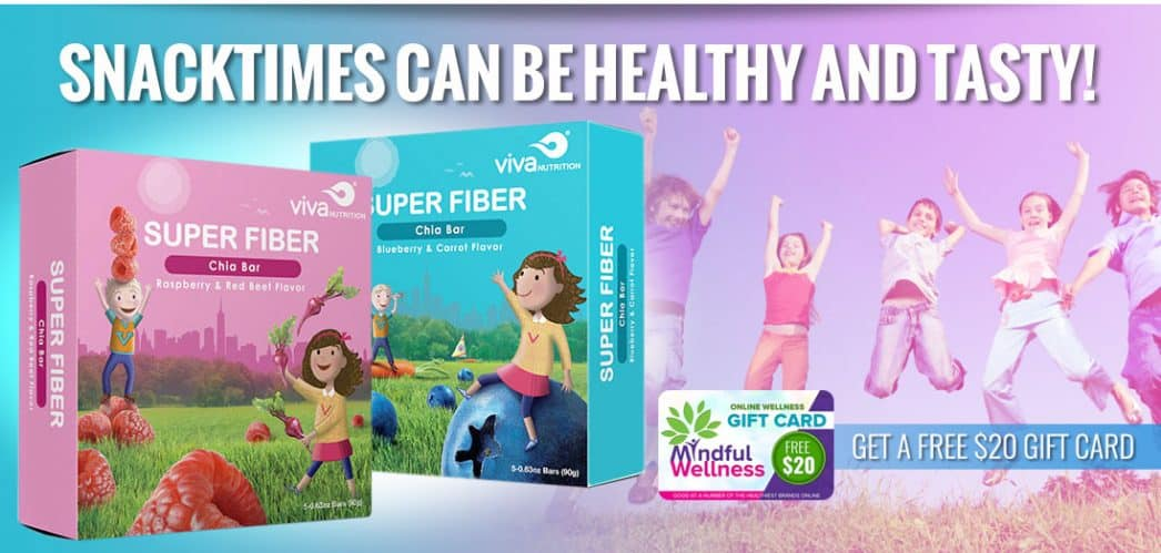 super fiber chia bars giveaway $50 amazon