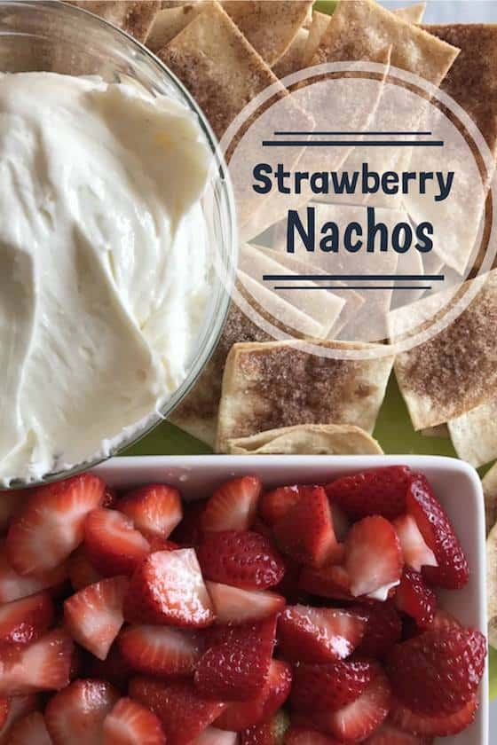 strawberry nachos recipe