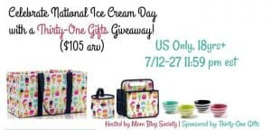 Thirty One Gifts Giveaway 7/27 US