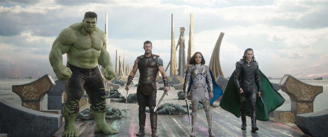thor ragnarok new poster and trailer