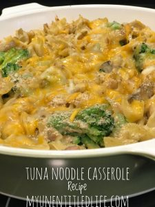Tuna Noodle Casserole recipe an oldie but a goodie