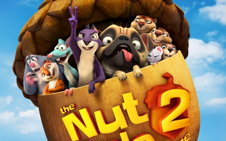 Nut Job 2 in theaters now