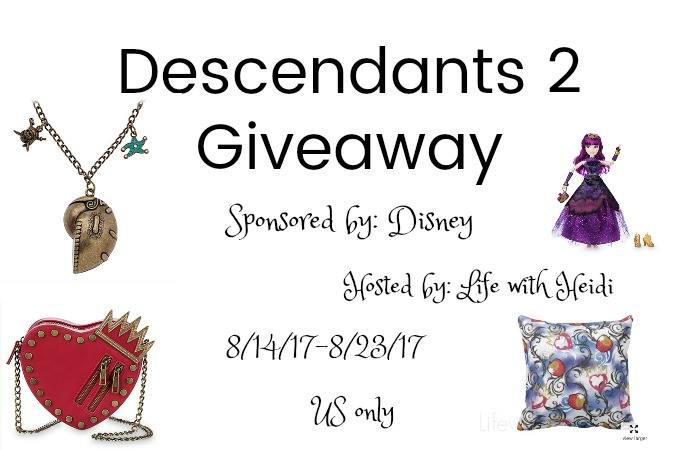 descendents 2 giveaway