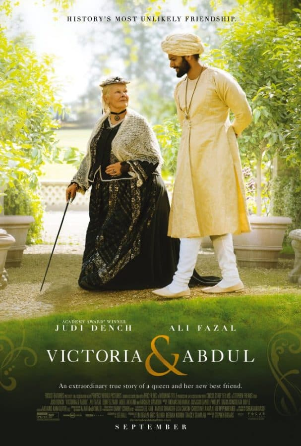 victoria and abdul trailer and release date