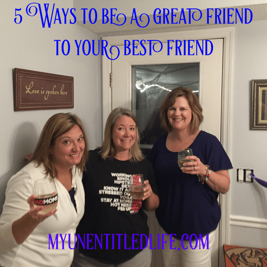 5 Ways to be a great friend to your best friend