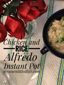 Chicken and Rice Alfredo Instant Pot recipe
