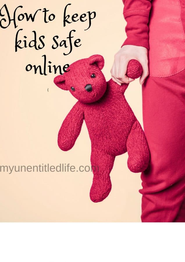how to keep the kids safe online