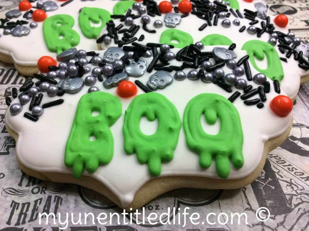 halloween sugar cookie recipe
