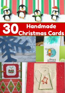 handmade christmas cards for you to make!