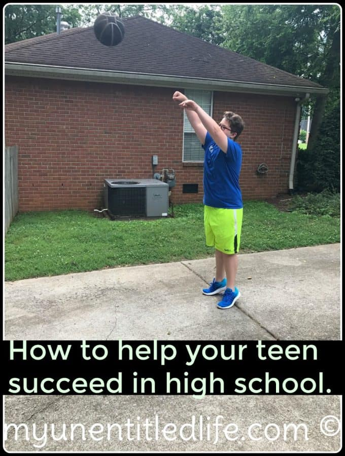 Do you have a new high schooler in the house? I've got 5 ways to help them succeed in high school. Learn it here!