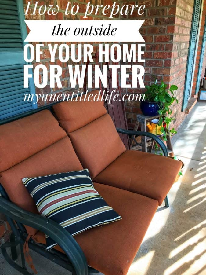 How to get the outside of your home ready for winter