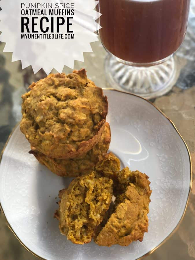 Take your favorite pumpkin pie muffin and make it a touch healthier and more filling. Delicious!