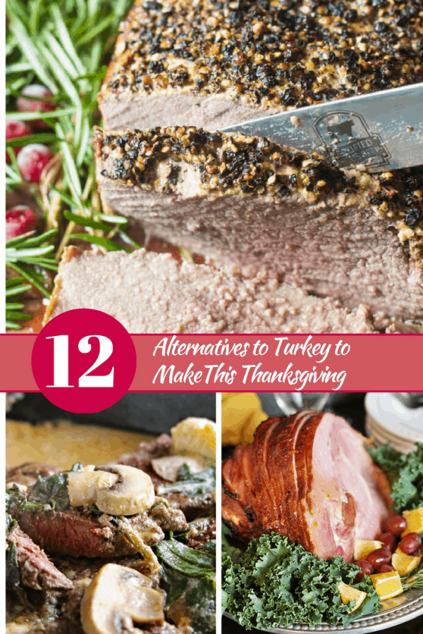 12 Alternatives to Turkey to make this Thanksgiving