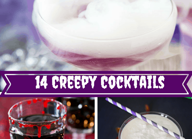 creepy cocktails for Halloween