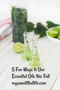 5 Fun Ways to Use Essential Oils this Fall