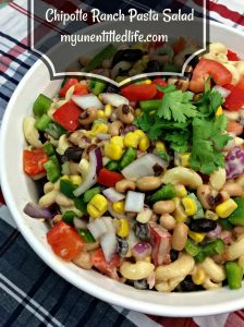 Chipotle Ranch Pasta Salad recipe