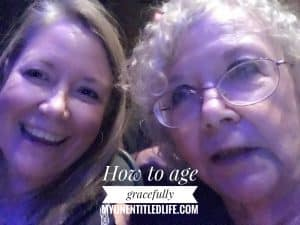 How to age gracefully #VN #ThePerfectAge #ad