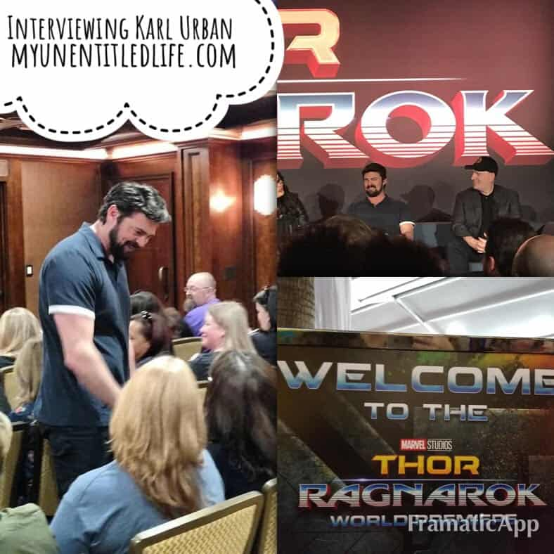 interviewing karl urban