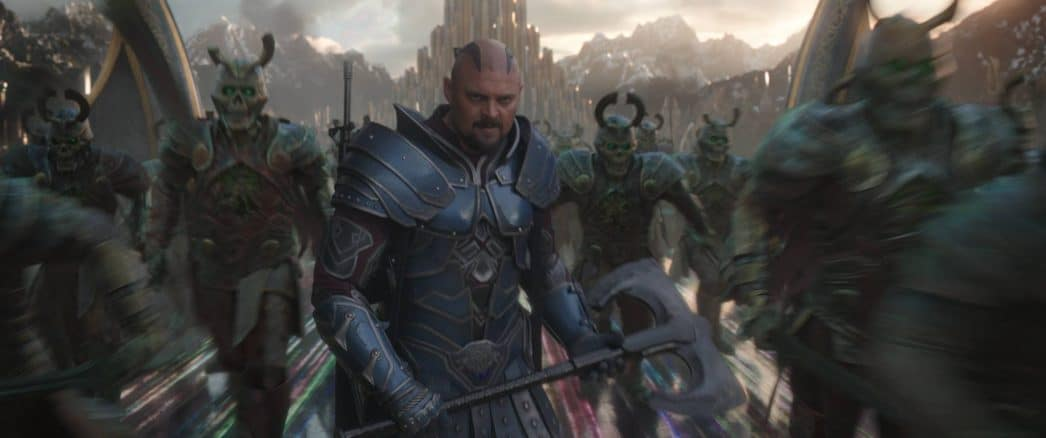 skurge Karl Urban in Thor interview