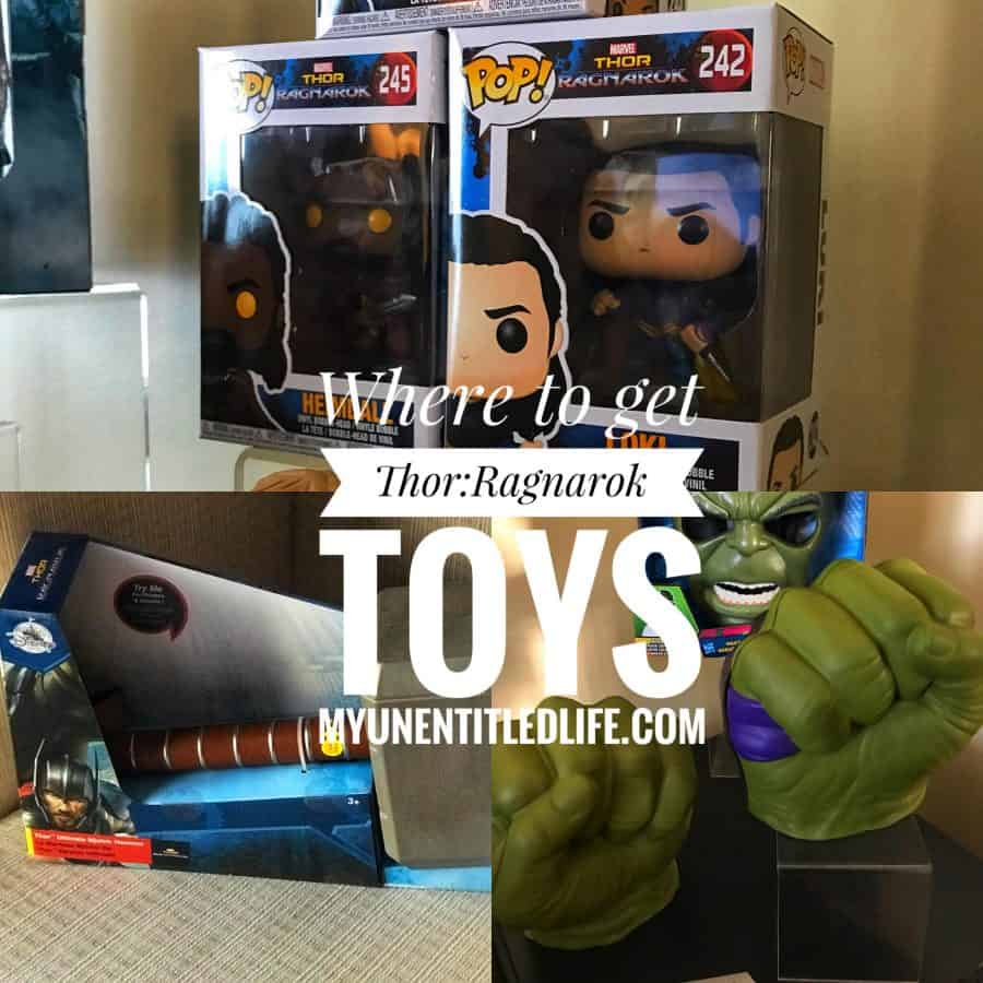 Ive got the details on where you can get the latest toys for christmas Thor Ragnarok toys! #ThorRagnarokEvent #disneypartner