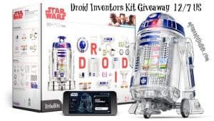 Little Bits Droid inventor kits fun #inventorswanted + a giveaway