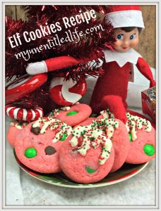elf on the shelf cookies recipe for christmas