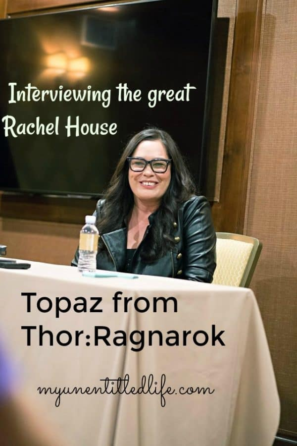 Interview with Rachel House of Thor:Ragnarok