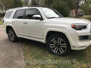 Going Places in a Toyota 4Runner LTD