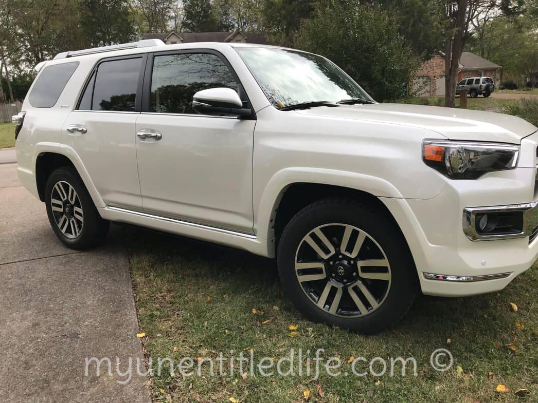 Going Places in a Toyota 4Runner LTD @toyota #letsgoplaces #drivetoyota