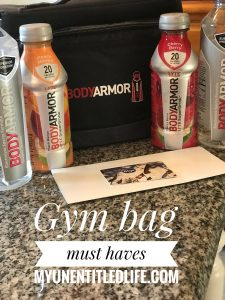 Gym Bag Must Haves #ad #Switch2BODYARMOR