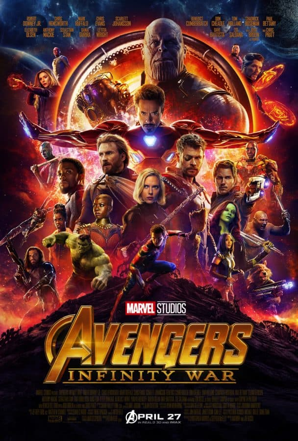 Avengers: Infinity War trailer and more here!!