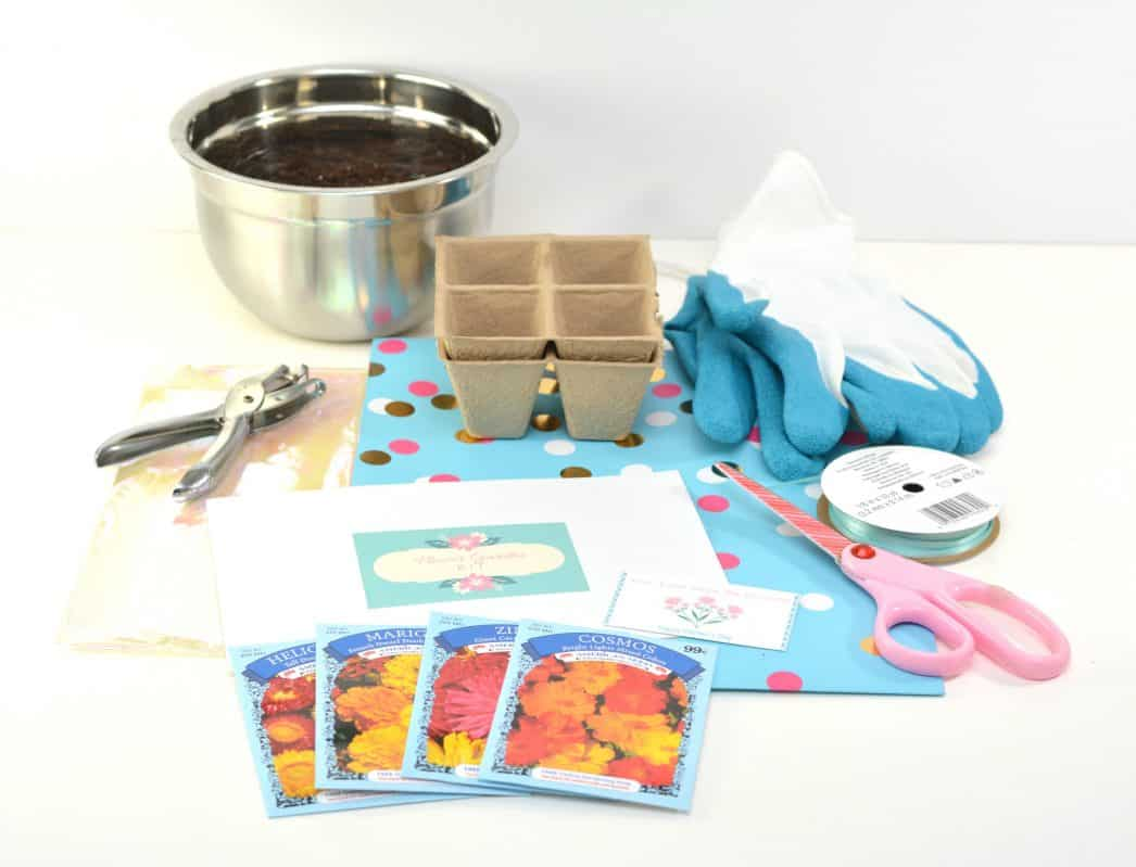 Mother's Day Flower Garden Kit
