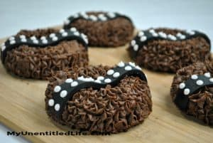 Fun to Make Chewbacca doughnuts