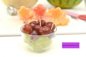 Yummy Flower Garden Fruit Cup