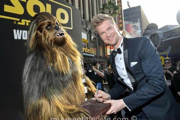 My Interview with Chewbacca Joonas Suotamo #HanSoloEvent
